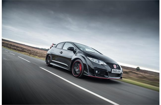 UK Drive: Honda Civic Type R Black Edition