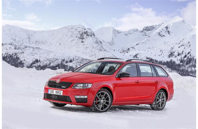 First drive: Skoda Octavia vRS 4x4 Estate