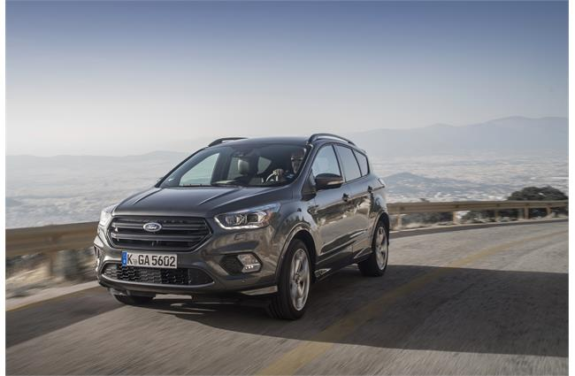 First Drive: Ford Kuga ST-Line