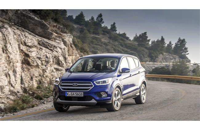 New Ford Kuga gets host of fresh technologies