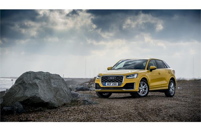 Audi Q2 crossover now available to order