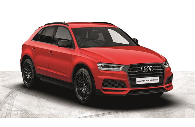 Audi extends Black Edition range