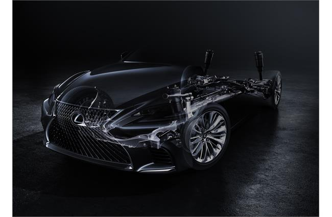 Lexus to debut new LS saloon at Detroit show