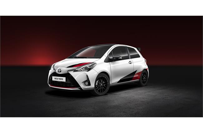 Toyota reveals high-performance Yaris