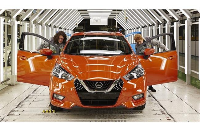 Nissan Micra production begins in France