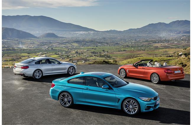 BMW reveals revised 4 Series