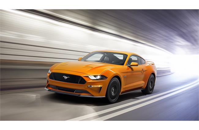 Ford unveils facelifted Mustang
