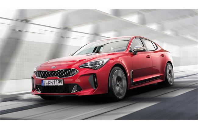 Kia reveals European specifications for hot new Stinger fastback