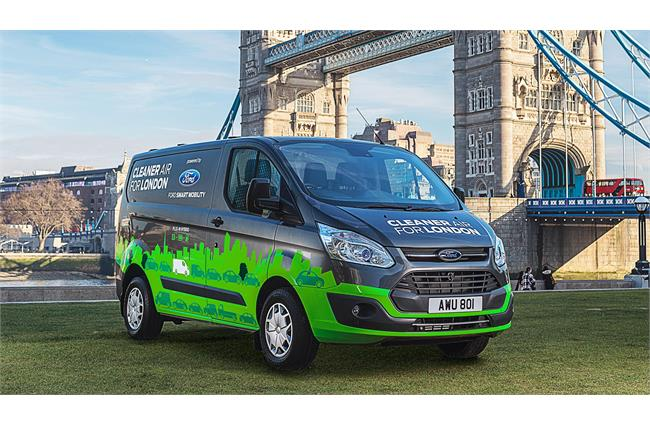 Ford to test hybrid Transit Custom vans on the streets of London