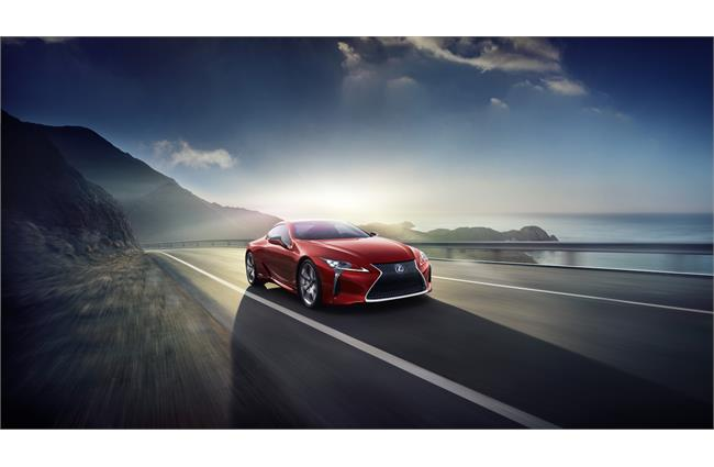 Lexus announces pricing for LC Coupe