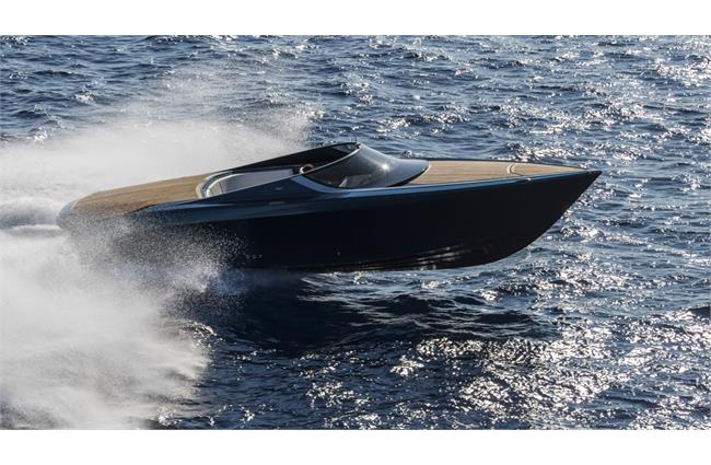Aston Martin debuts new powerboat at US yacht show
