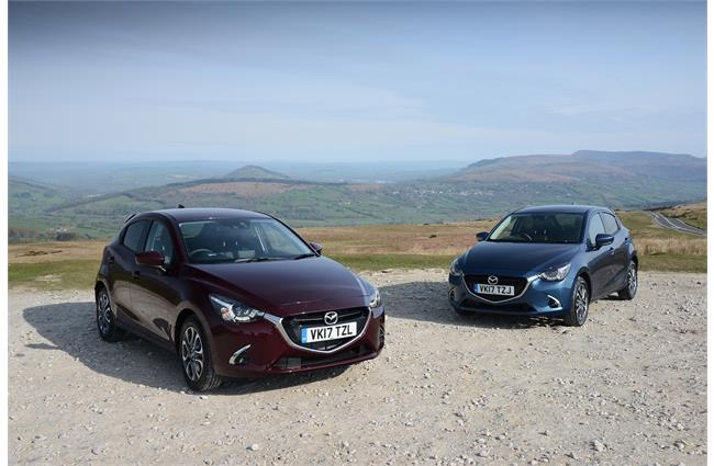 The Mazda2 gets sporty