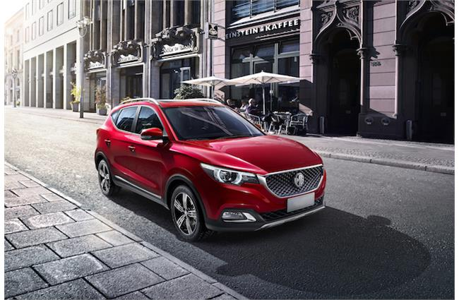 MG unveil its all-new XS SUV