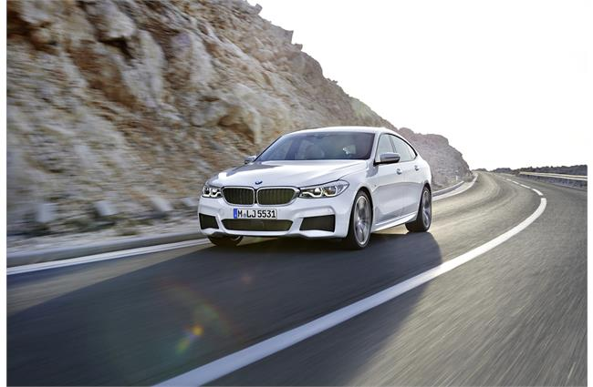 BMW pulls covers off 6 Series Gran Turismo
