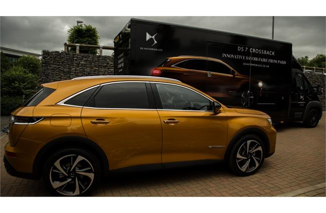DS 7 Crossback embarks on UK tour