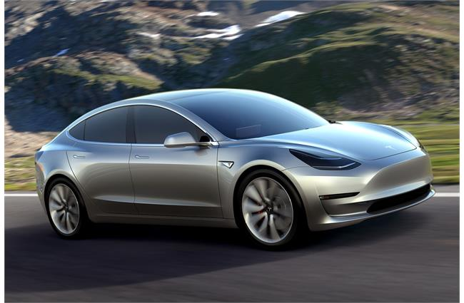 First Tesla Model 3 to be complete Friday