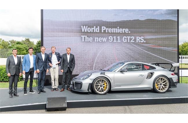 Porsche unveils 911 GT2 RS at Goodwood