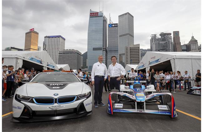 BMW to enter all-electric race series Formula E