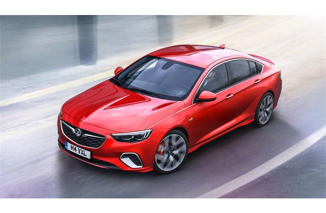 Vauxhall reveals the 256bhp Insignia GSi