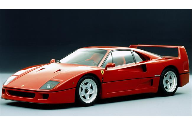 The Ferrari F40 has just turned 30